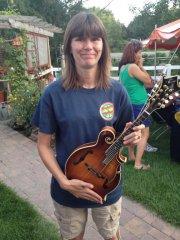 "Katie Flamm ""The Girl"" Mandolin"