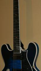 '12 H555 Blueburst with Note Inlays Bigsby Throbak MXV + Pickups