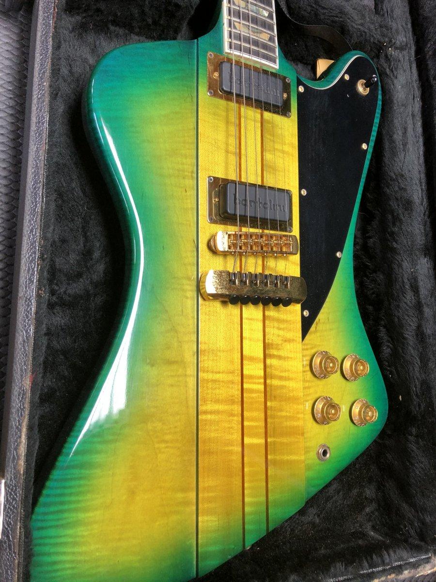 H-357 Trans Green Sunburst