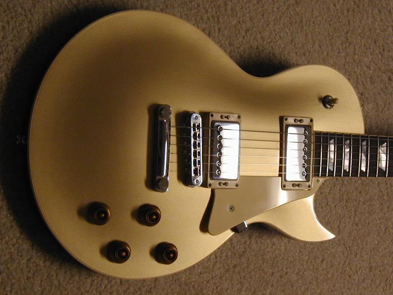 H140 Goldtop '08 - Custom