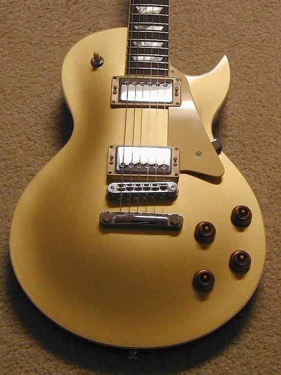 '08 H140 Custom Goldtop
